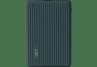 ISY IPP-5000-HD- BK  Powerbank 5000 mAh Blaugrau