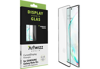 ARTWIZZ CurvedDisplay, Displayschutz, Samsung Galaxy Note 10+, Schwarz/Transparent