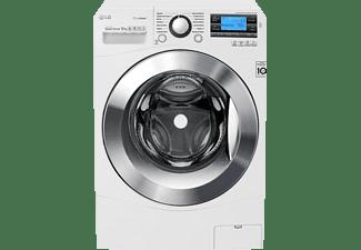 Lavadora carga frontal - LG Twin Wash TWOB12W, Principal 12 kg + Mini 2 kg, Doble tambor, 1400 rpm, Blanco