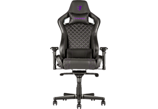 TESORO Zone X Gaming Chair Gaming Stuhl, Schwarz/Lila