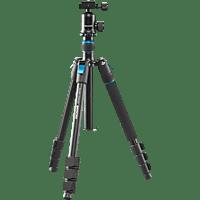 CULLMANN Rondo 430TM RB6.5 Dreibeinstativ Reisestativ, Schwarz, Höhe offen bis 135 cm