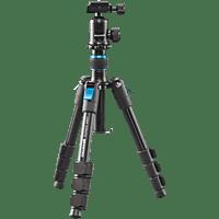 CULLMANN Rondo 400T RB6.5 Dreibeinstativ Reisestativ, Schwarz, Höhe offen bis 89 cm