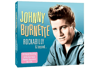 Johnny Burnette - Rockabilly & Beyond  - (CD)