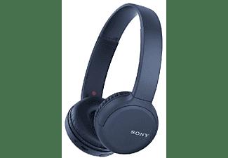 Auriculares inalámbricos - Sony WH-CH510L, Bluetooth, Autonomía 35h, Micrófono, Azul