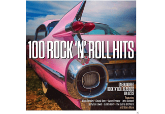 VARIOUS - 100 Rock'Roll Hits  - (CD)