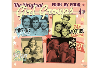 The Original Girl Groups (cdx4) - Four By Four-The Original Girl Groups  - (CD)