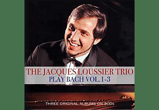 Jacques Trio Loussier - Plays Bach 1-3  - (CD)