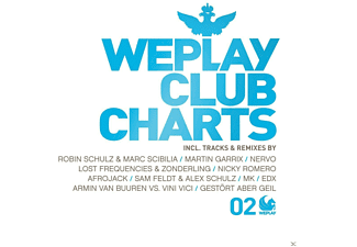 VARIOUS - WePlay Club Charts,Vol.2  - (CD)