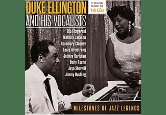 Duke Ellington, Louis Armstrong, Ella Fitzgerald, Mahalia Jackson, Rosemary Clooney, Jimmy Rushing, Ben Webster, Oscar Peterson, Johnny Hodges, Betty Roch, Eugene Baird - Milestones Of A Jazz Legend  - (CD)