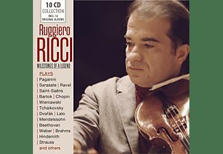 Ruggiero Ricci - Milestones of a Legend  - (CD)