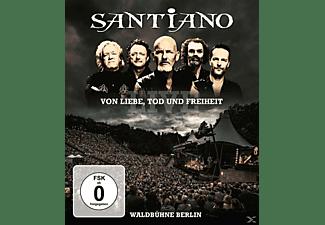 Santiano - Von Liebe, Tod und Freiheit - Live / Waldbühne Ber [Blu-ray]