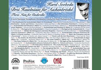 Jan Chalupecky, Czech National Symphony Orchestra - Drei Haselnüsse für Aschenbrödel  - (CD)