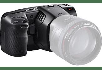 BLACKMAGIC DESIGN Pocket Cinema Camera 6K, 21.2 MP, 6K50p, 5 Zoll Touch LCD, EF-Mount, Schwarz