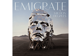 Emigrate - A Million Degrees  - (CD)