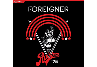 Foreigner - Live At The Rainbow '78  - (DVD + CD)