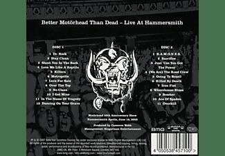 Motörhead - Better Motörhead Than Dead (Live at Hammersmith)  - (CD)