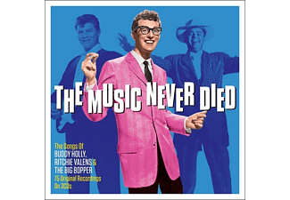 Buddy / Ritchie Va Holly - The Music Never Died  - (CD)