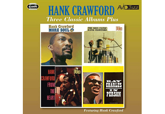 Hank Crawford - Three Classic Albums Plus  - (CD)