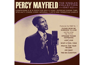 Percy Mayfield - THE SINGLES COLLECTION 1947-1962  - (CD)