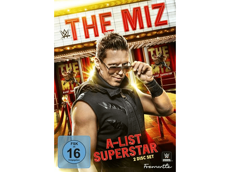 The Miz-A-List Superstar [DVD]