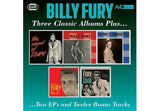 Billy Fury - Three Classic Albums Plus  - (CD)