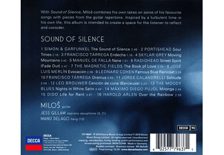 Milos Karadaglic - Sound Of Silence  - (CD)