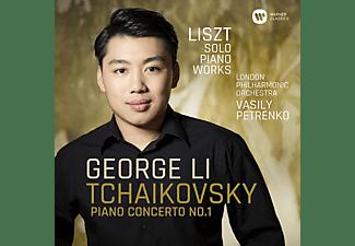 George Li, The London Philharmonic Orchestra - Klavierkonzert 1/Werke für Klavier  - (CD)