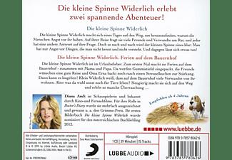 Diana Amft - Die kleine Spinne Widerlich: Ferien auf dem Bauern  - (CD)