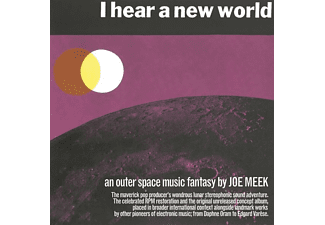 VARIOUS - I Hear A New World-An Outer Space Music Fantasy  - (CD)