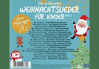 VARIOUS - Die Schönsten Weihnachtslieder Für Kinder Vol.1  - (CD)