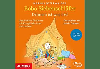 Markus Osterwalder, Katrin Gerken - Bobo Siebenschläfer: Drinnen ist was los! Geschich  - (CD)