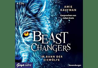 Amie Kaufmann, Julian Greis - Beast Changers: Im Bann der Eiswölfe-Folge 1  - (CD)