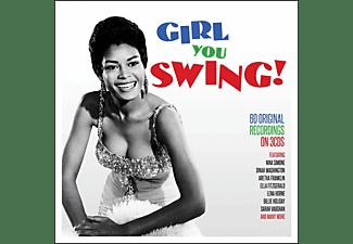VARIOUS - GIRL YOU SWING!  - (CD)