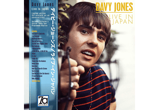 Davy Jones - Live In Japan (3LP Coloured Vinyl,28 page booklet  - (Vinyl)