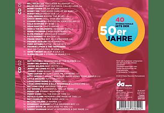 VARIOUS - 40 Internationale Hits Der 50er  - (CD)