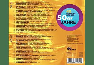 VARIOUS - 40 Deutsche Hits Der 50er  - (CD)