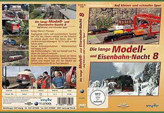 Die 8. lange Modell- und Eisenbahnnacht - Auf kleiner und schmaler Spur DVD