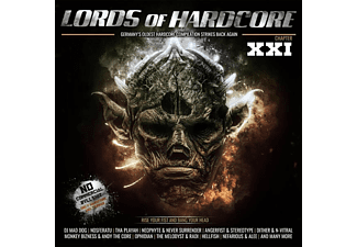 VARIOUS - LORDS OF HARDCORE 21 - (CD)