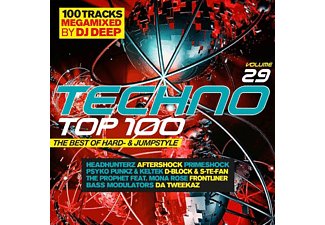 VARIOUS - TECHNO TOP 100 29-THE BEST OF HARD-AND JUMPST - (CD)