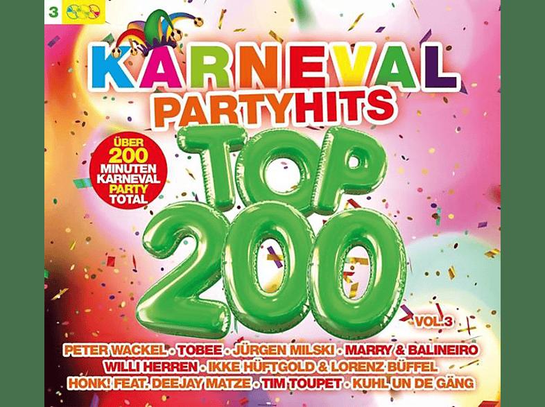VARIOUS - Karneval Party Hits Top 200 Vol.3 [CD]