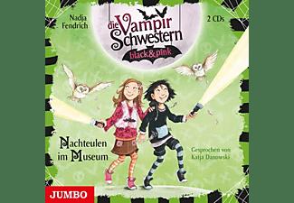 Nadja Fendrich - Die Vampirschwestern Black & Pink (6).Nachteulen  - (CD)
