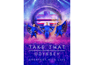 Take That - ODYSSEY - Greatest Hits Live (Limited Box) - (CD)