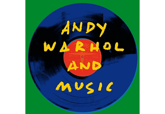 VARIOUS - ANDY WARHOL AND MUSIC - (CD)
