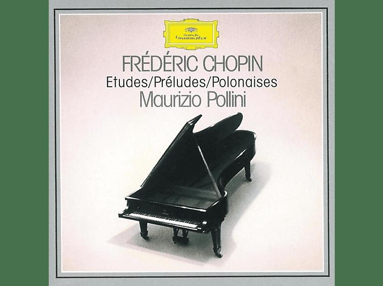 Maurizio Pollini - Etüden Op.10&25 (Ga)/Preludes Op.28/Polonaisen 1-7 [CD]