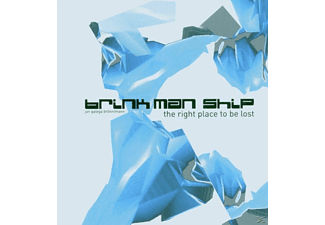 Brink Man Ship - Right Place To Be Los  - (CD)