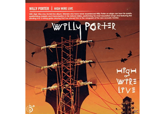 Willy Porter - High Wire Live  - (CD)