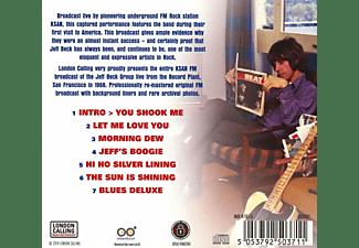 Jeff Beck - Live At The Record Plant,San Francisco 1968  - (CD)