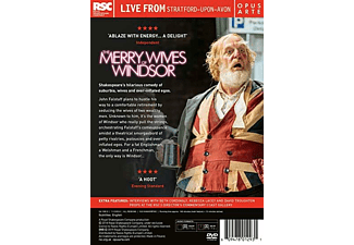 THE MERRY WIVES OF WINDSOR DVD