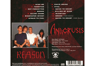 Anacrusis - REASON  - (CD)