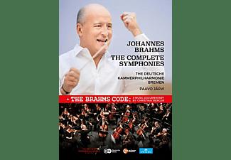 Deutsche Kammerphilharmonie Bremen - Brahms: Sämtliche Sinfonien  - (DVD)
